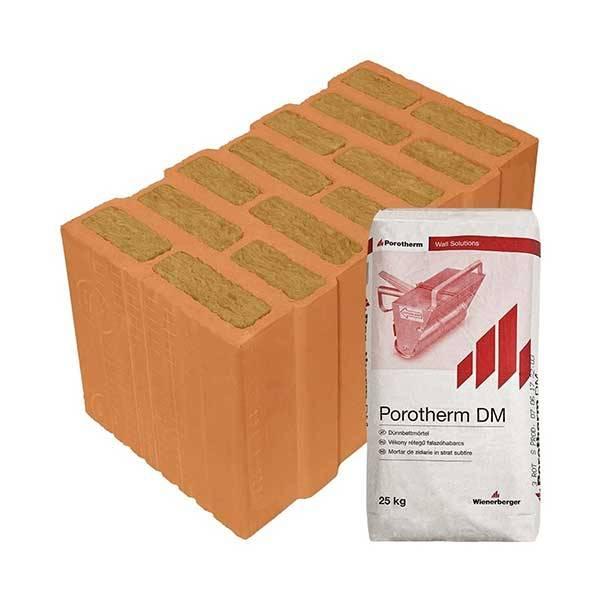 Porotherm Profi + v.f.h 44 T (Thermo) tégla