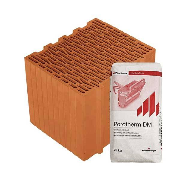 Porotherm Profi + V.F.H. 30 K tégla
