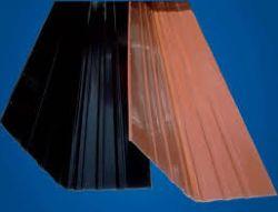 BaloBau Univerzális alumínium vápaelem - 2 x 0,5 m - antracit