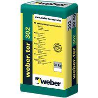 Weber weber.ter 302 F - vékonyrétegű nemesvakolat, finomszemcsés - fehér