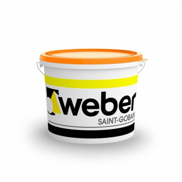 Weber weber.pas aquaSIL - vékonyvakolat - finomszemcsés - 1. színcsoport