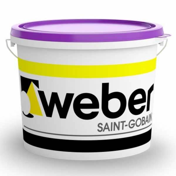 Weber weber.pas silicate - vékonyvakolat - középszemcsés - 2. színcsoport