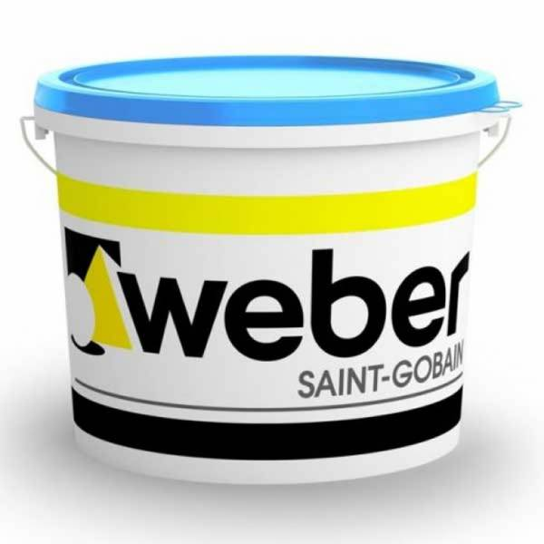 Weber weber.pas 15 - vékonyvakolat - gördülőszemcsés - alapáras színek