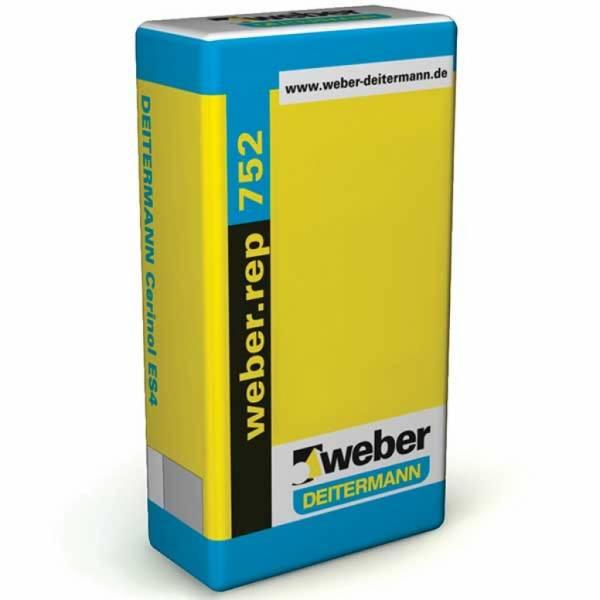 Weber weber.rep 753H - finom betonkiegyenlítő habarcs