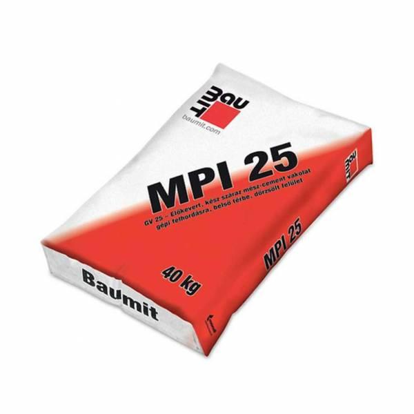 Baumit GV 25 belső gépi vakolat - 40 kg