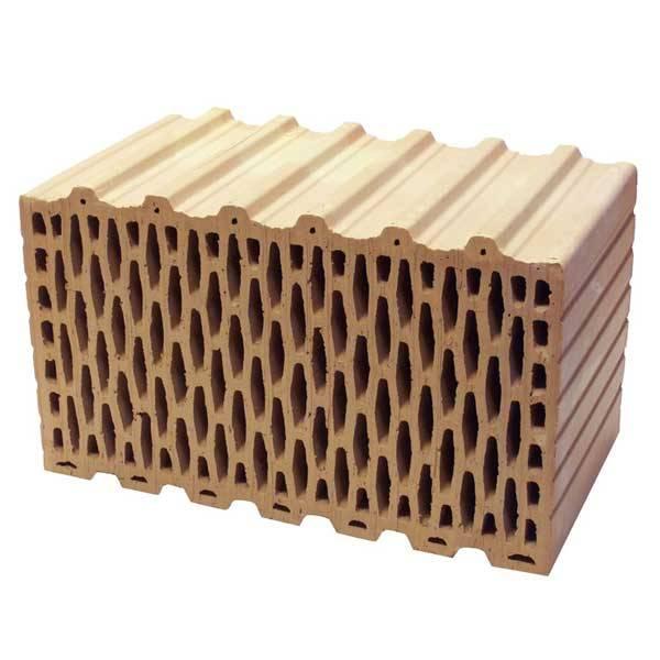 Bakonytherm 44 NF fokozott hőszigetelőképességű falazótégla