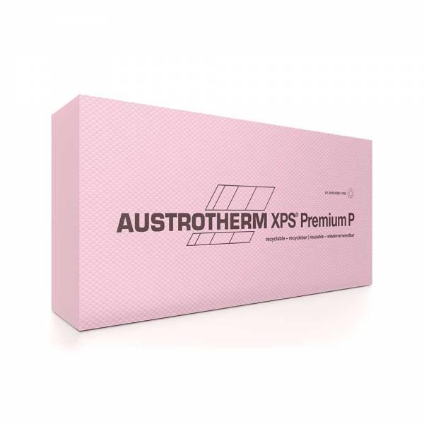 Austrotherm XPS Premium 30 SF - extrudált polisztirol lemezek - 100 mm