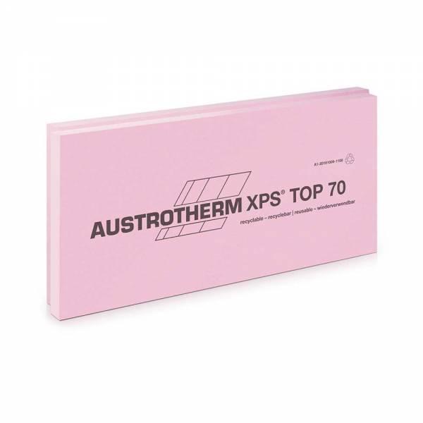 Austrotherm XPS TOP 70 SF - extrudált polisztirol lemez - 80 mm