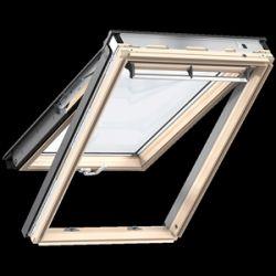 Velux GPU 0073 Premium Panoráma ablak alsó- és felső kilinccsel, karbantartást nem igénylő felülettel - 134x140 cm