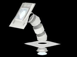 Velux Merev csöves fénycsatorna profilos tetőfedő anyagokhoz TWR