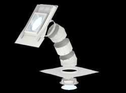 Velux Merev csöves fénycsatorna sík tetőfedő anyagokhoz TLR