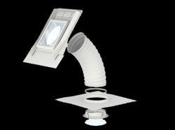 Velux Flexibilis csöves fénycsatorna profilos tetőfedő anyagokhoz TWF