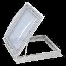 Velux Tetőkijárat+kupola CXP+ISD - víztiszta akril kupolával - 120x120 cm