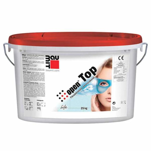 Baumit OpenTop vékonyvakolat - fehér színcsoport - 25 kg