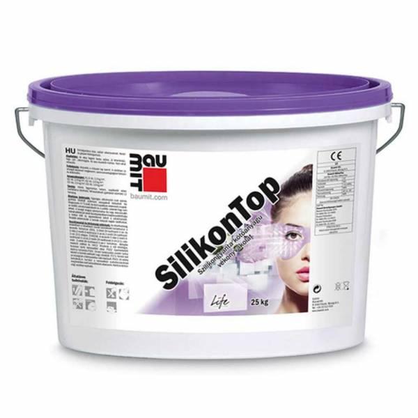 Baumit SilikonTop vékonyvakolat - fehér színcsoport - 25 kg