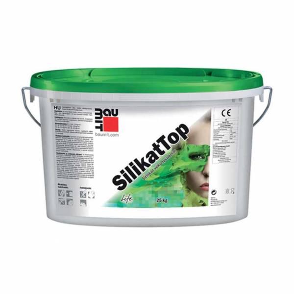 Baumit SilikatTop vékonyvakolat - fehér színcsoport - 25 kg