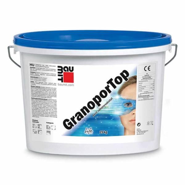 Baumit GranoporTop vékonyvakolat - III. színcsoport - 25 kg
