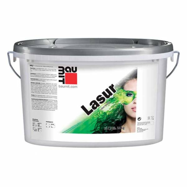 Baumit Lasur lazúrhatású diszperziós festék - 14 kg