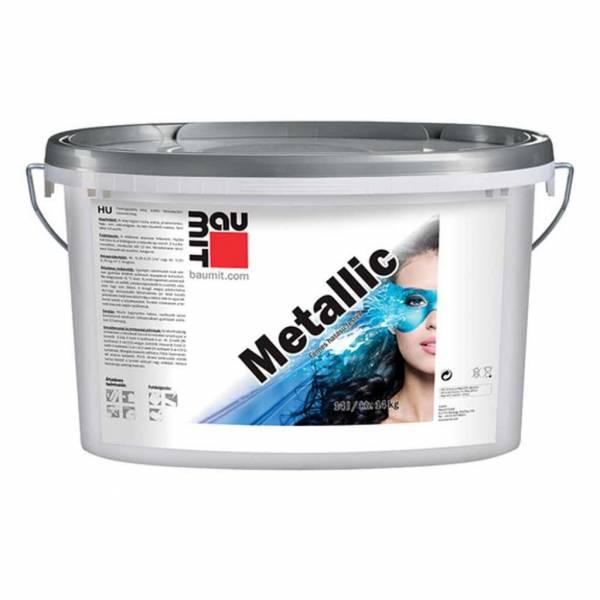 Baumit Metallic metálszínű dekor festék - 14 kg