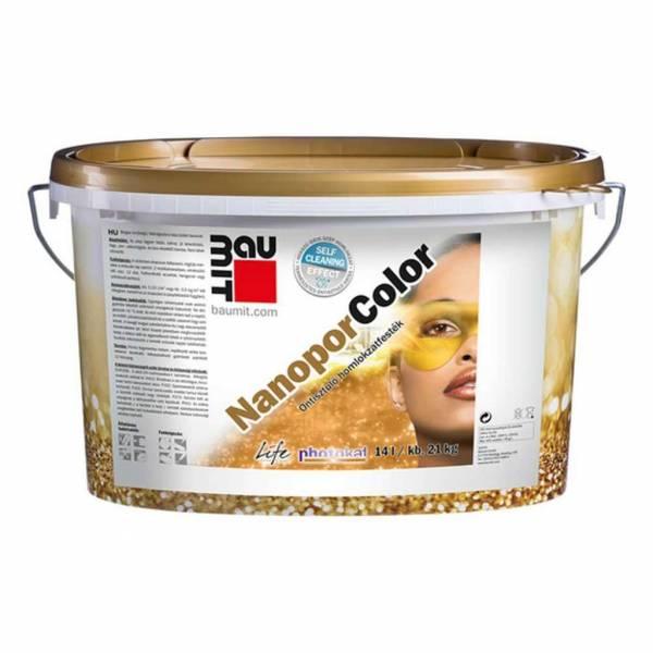 Baumit NanoporColor homlokzatfesték - Fehér színcsoport - 5 kg