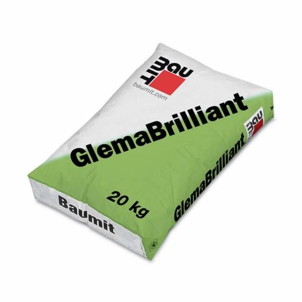 Baumit GlemaBrilliant hófehér glettanyag kézi és gépi felhordásra - 20 kg