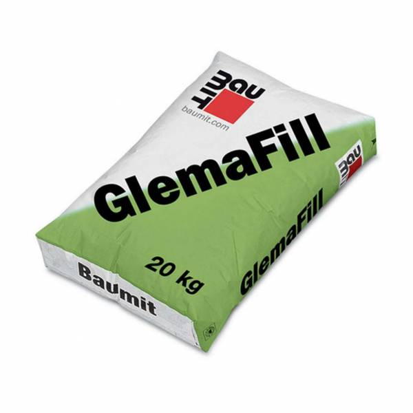 Baumit GlemaFill kül- és beltéri gyorskötésű vastag glett - 20 kg