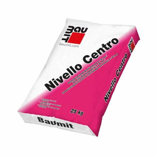 Baumit Nivello Centro - aljzatkiegyenlítő - 25 kg