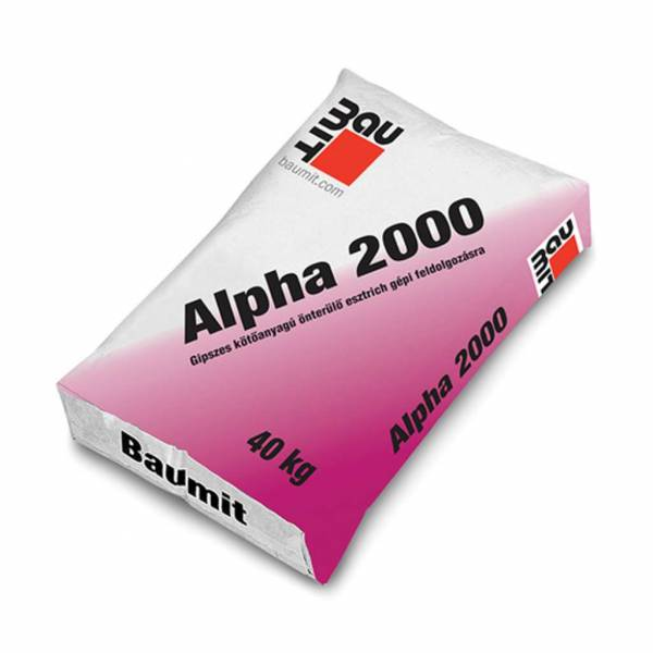 Baumit Alpha 2000 önterülő esztrich - 40 kg