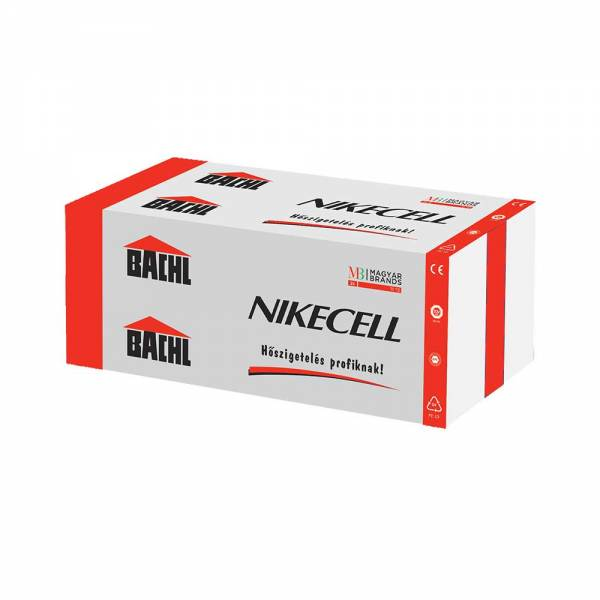 Bachl Nikecell EPS 80H - homlokzati hőszigetelő lap - 100 mm
