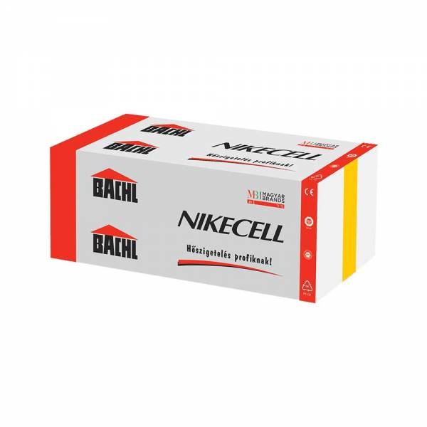 Bachl Nikecell EPS 100 - lépésálló, terhelhető hőszigetelő lemez - 20 mm