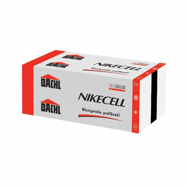 Bachl Nikecell EPS 150 - nagy terhelhetőségű hőszigetelő lemez -140 mm