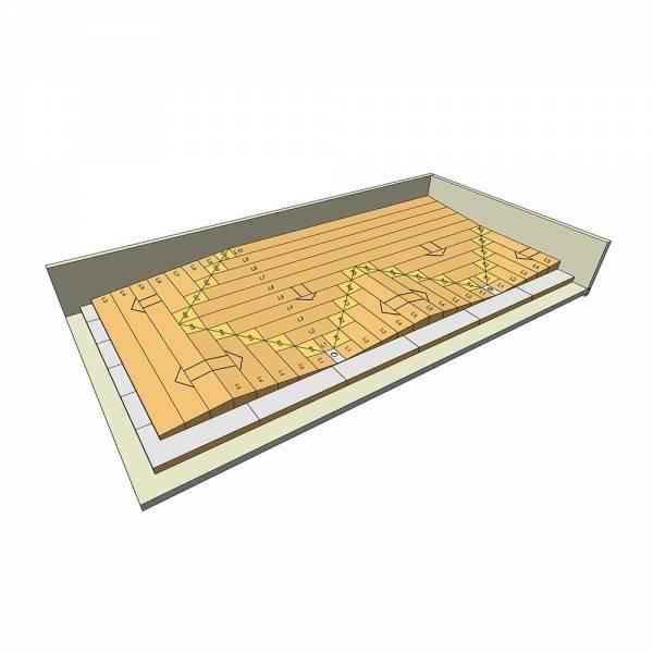 Bachl PIR LTL hőszigetelő lemez - 1225 x 600 mm