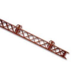 Masterplast Roofbond AC szellőzőléc - 1 m - vörös