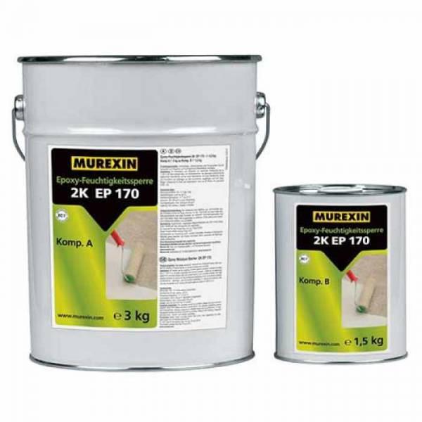Murexin 2K EP 170 nedvességzáró epoxi gyanta - 12 kg