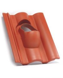 Terrán műanyag (átvezető) alapcserép Standard, Danubia (tégla, fekete, barna)