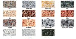 Murexin MG 24 színes márványkavics, nagyszemcsés - natur - 25 kg