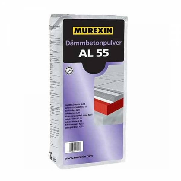 Murexin AL 55 hő- és hangszigetelő beton kötőanyag - 11 kg