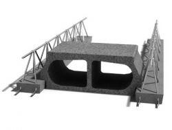Leier mesterfödém gerenda LMF 640 - 640 cm