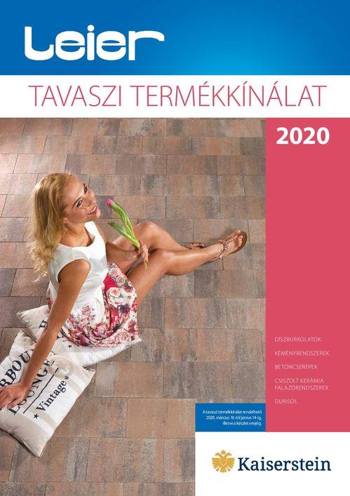Leier tavaszi akció 2020