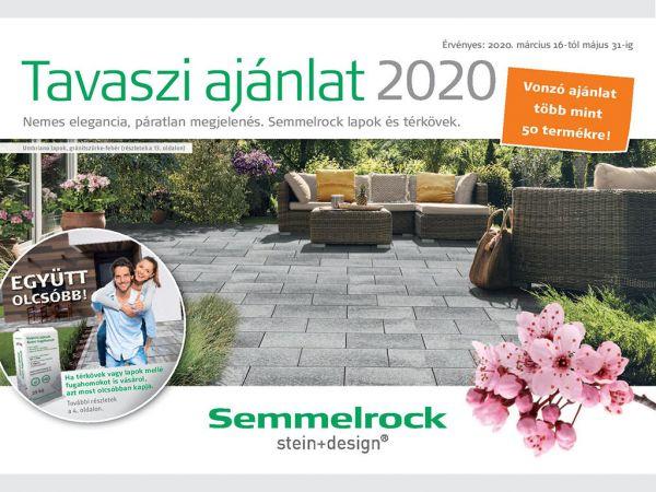 Semmelrock tavaszi akció - 2020