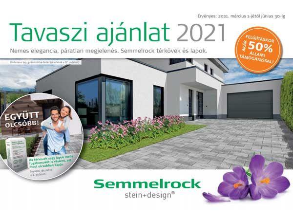 Semmelrock tavaszi akció - 2021
