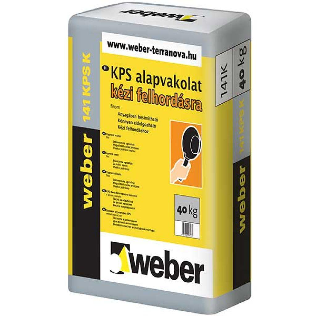Weber WeberKPS 141G kézi alapvakolat 40kg