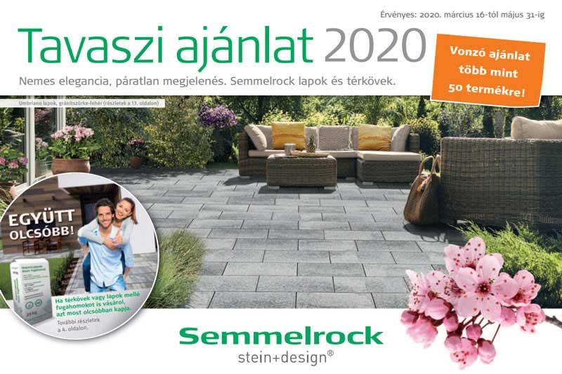 Semmelrock tavaszi akció 2020