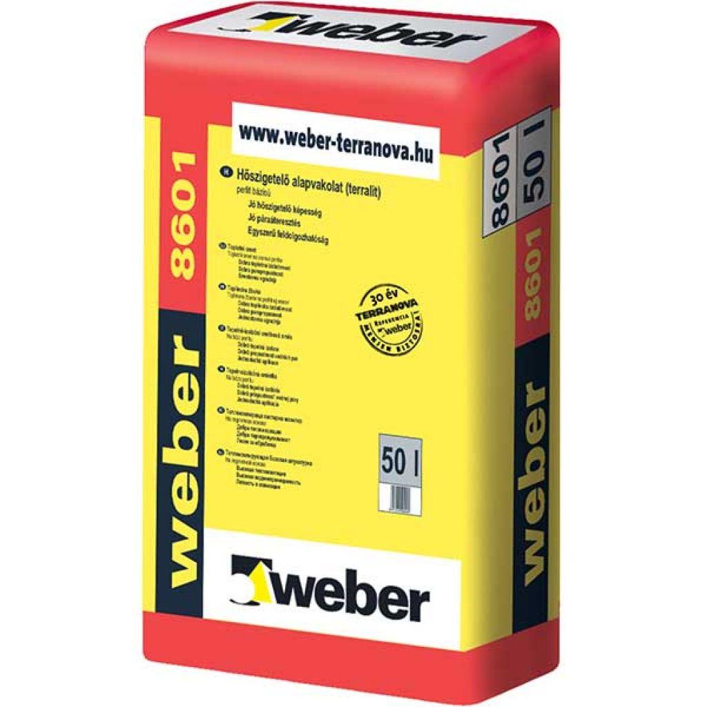 Weber WeberKPS Terralit hőszigetelő alapvakolat 30 liter
