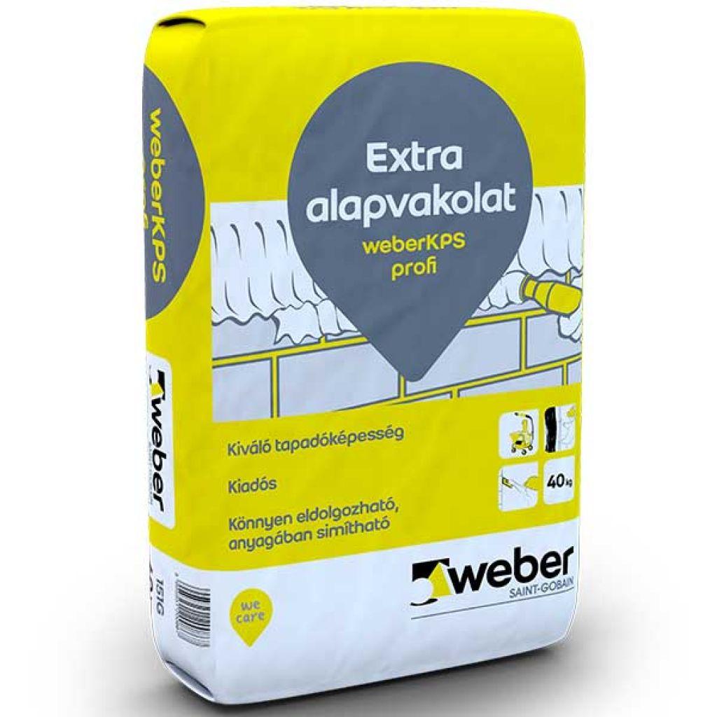 Weber WeberKPS Profi extra alapvakolat 40kg