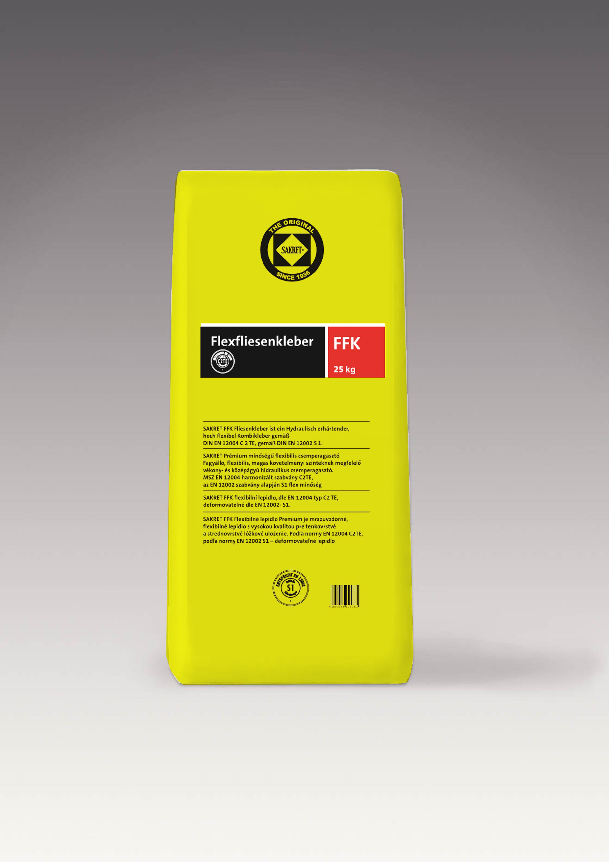 Sakret FFK emelt minőségű flexibilis csemperagasztó 25kg