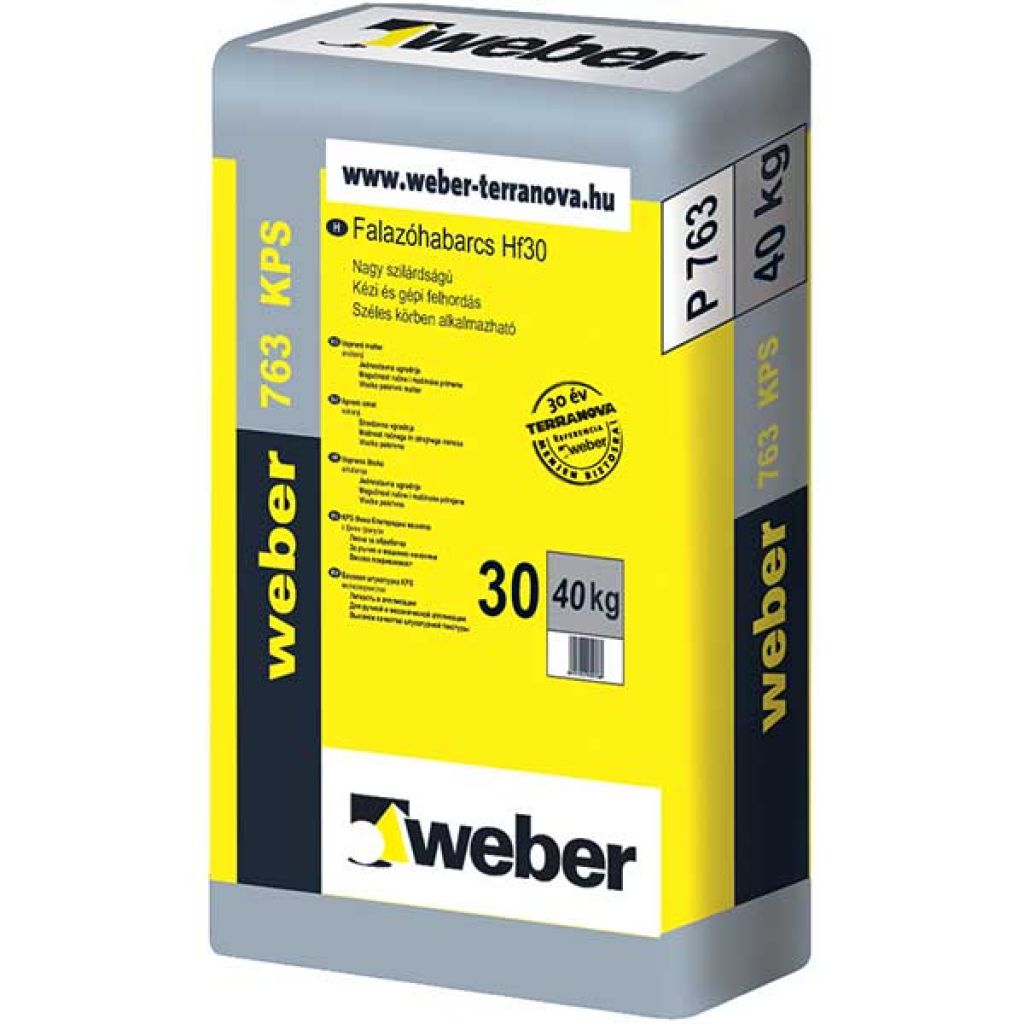 Weber Webermix M2.5 falazóhabarcs 40kg