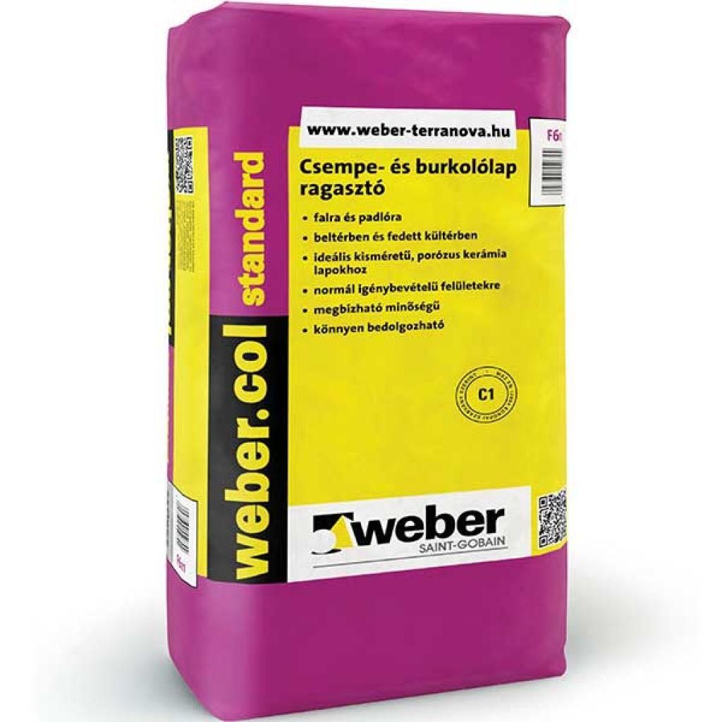 Weber Webercol Standard CIT csemperagasztó 25kg