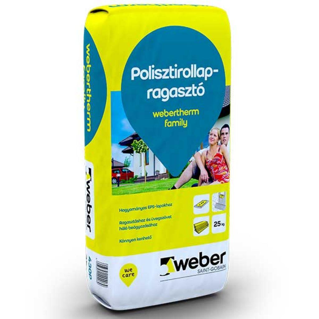Weber Webertherm Family polisztirol ragasztó 25kg