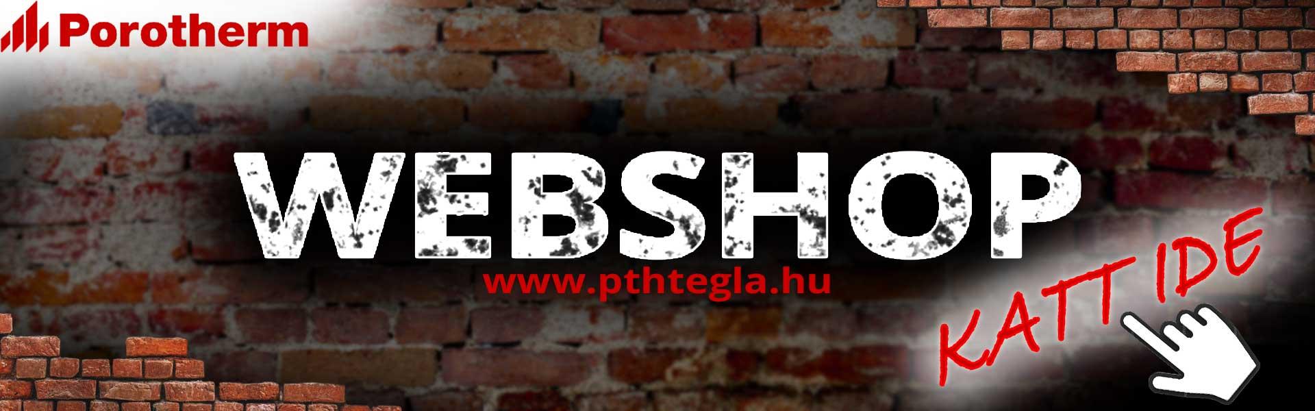 Porothem tégla webshop
